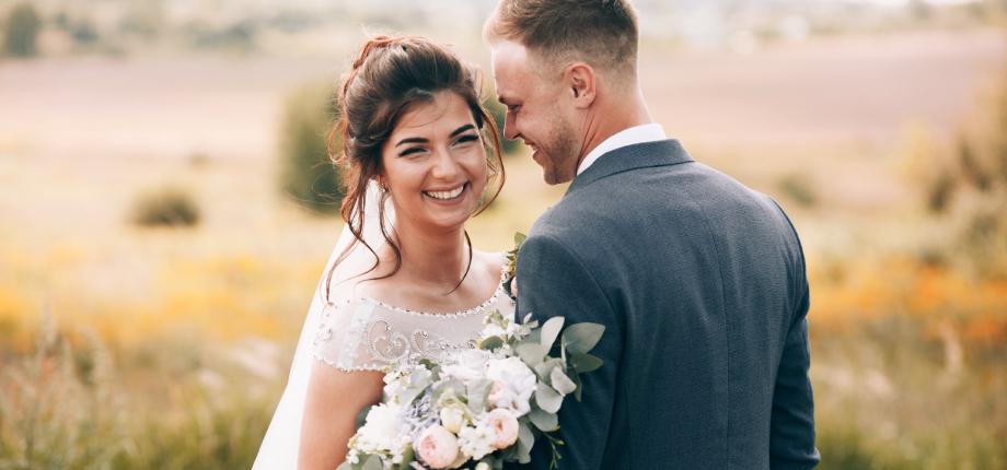 Photo of happy couple